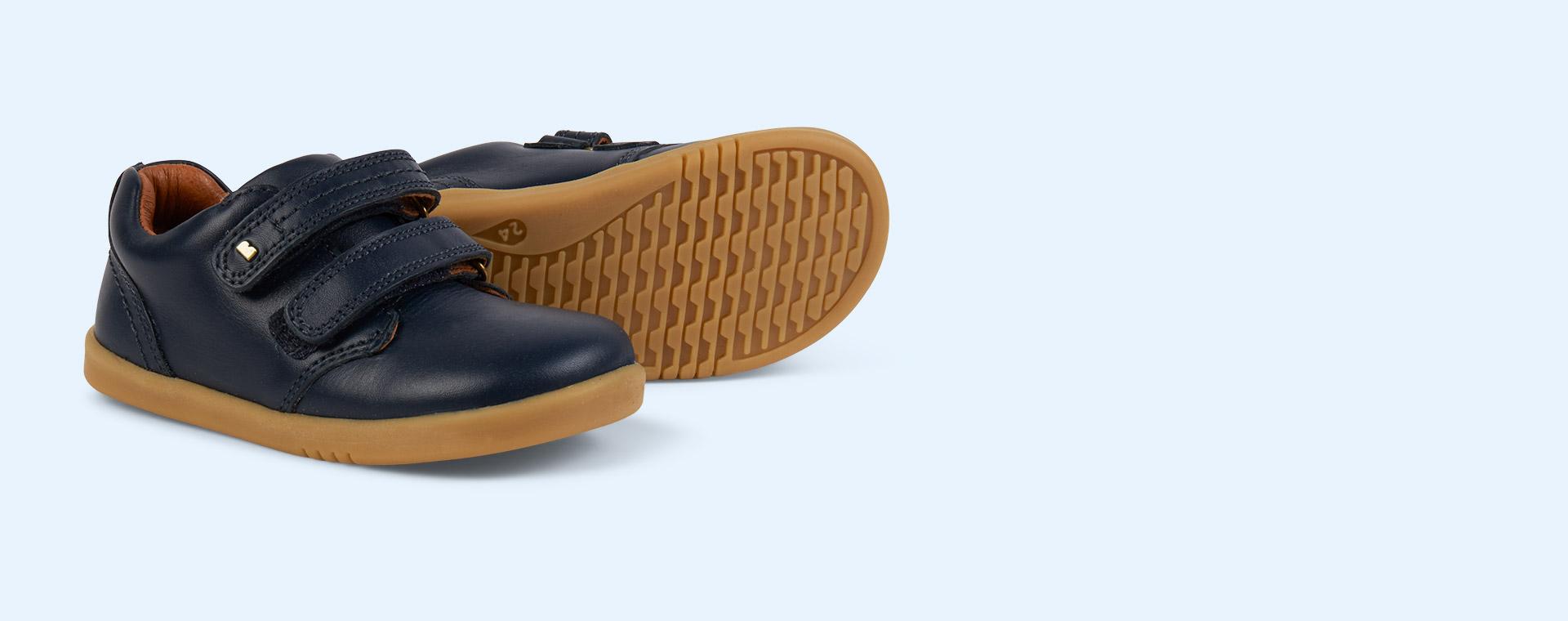 New Navy Bobux I-Walk Port Shoe