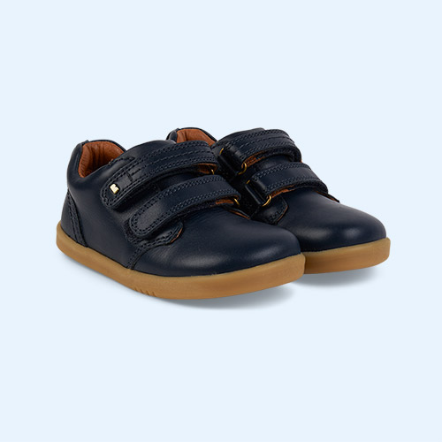 New Navy Bobux I-Walk Port Shoe