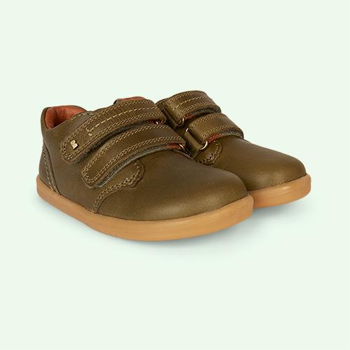 Olive Bobux I-Walk Port Shoe