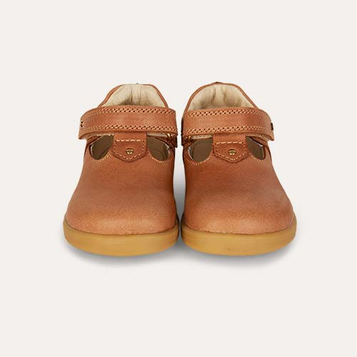 Caramel Bobux I-Walk Louise T-bar Shoe