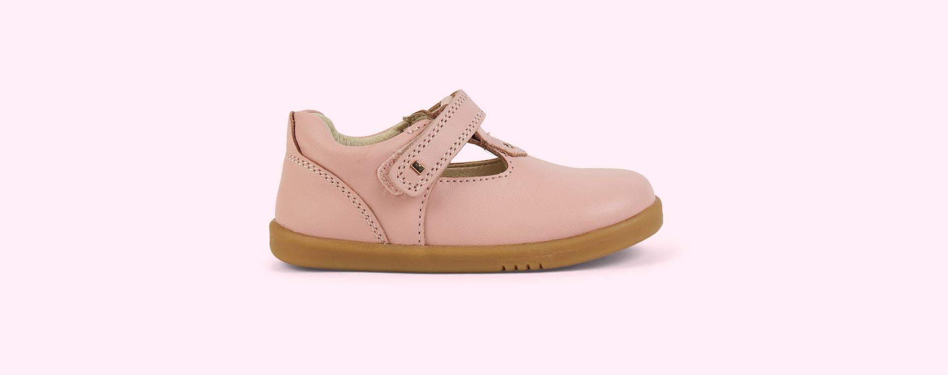 Seashell Bobux I-Walk Louise T-bar Shoe