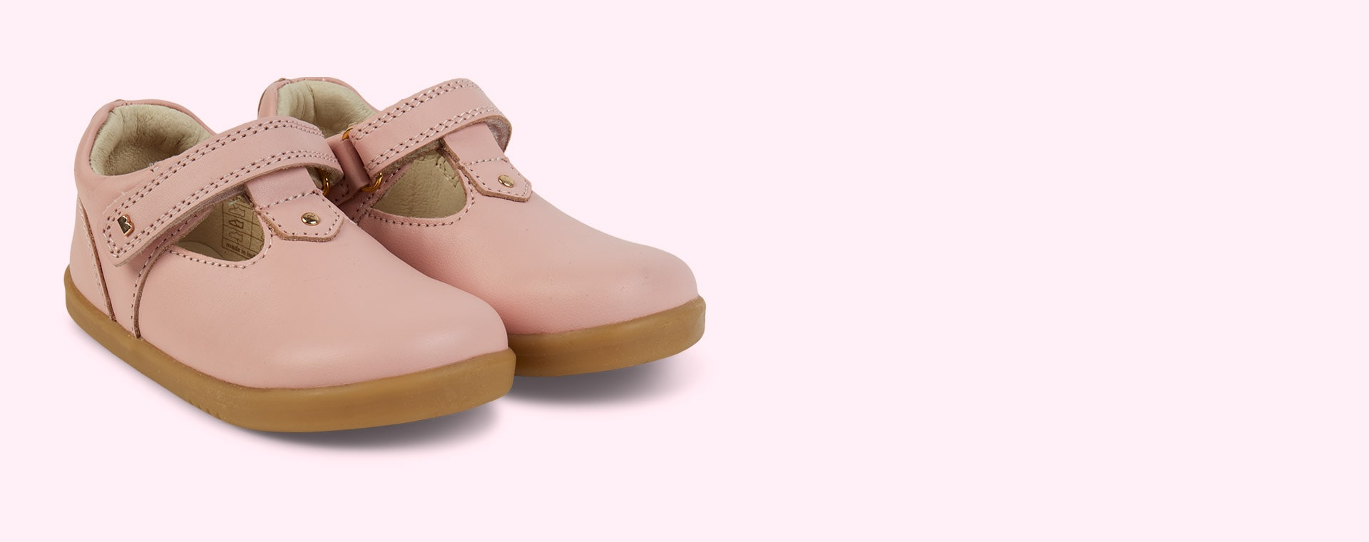 Seashell Bobux I-Walk Louise T-bar Shoe