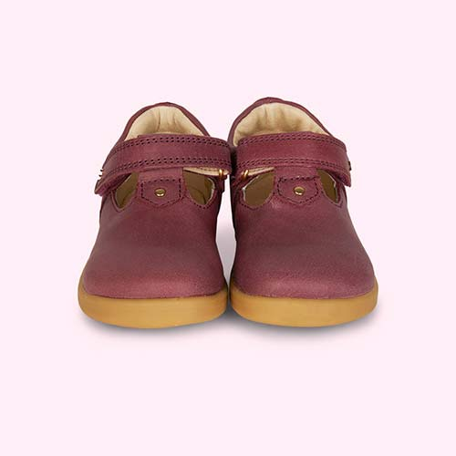 Plum Bobux I-Walk Louise T-bar Shoe