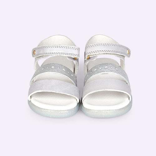 Silver Bobux I-Walk Trinity Sandal