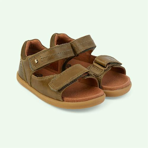 Olive Bobux I-Walk Driftwood Sandal