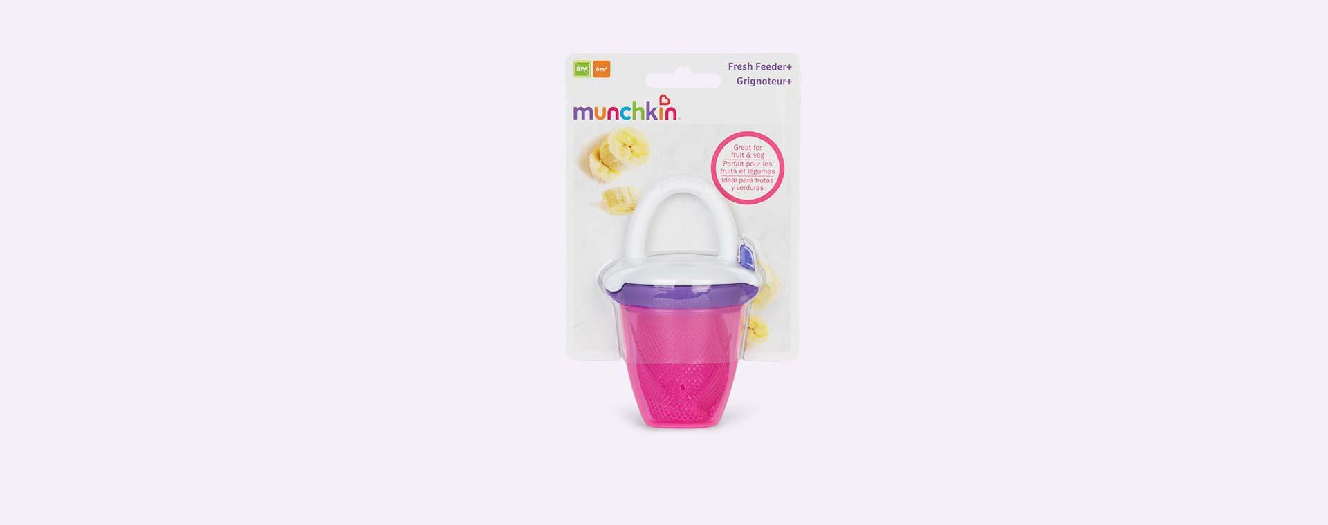 Pink Munchkin Deluxe Fresh Food Feeder