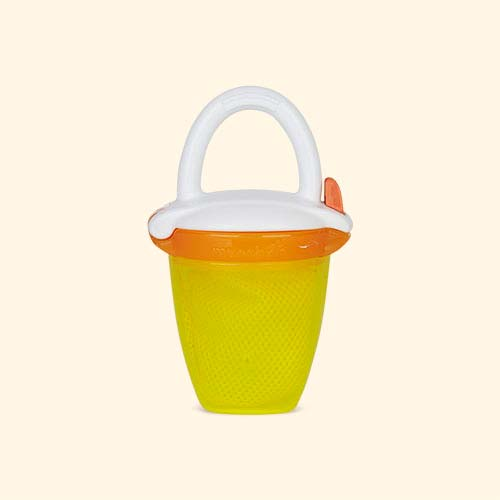 Yellow Munchkin Deluxe Fresh Food Feeder