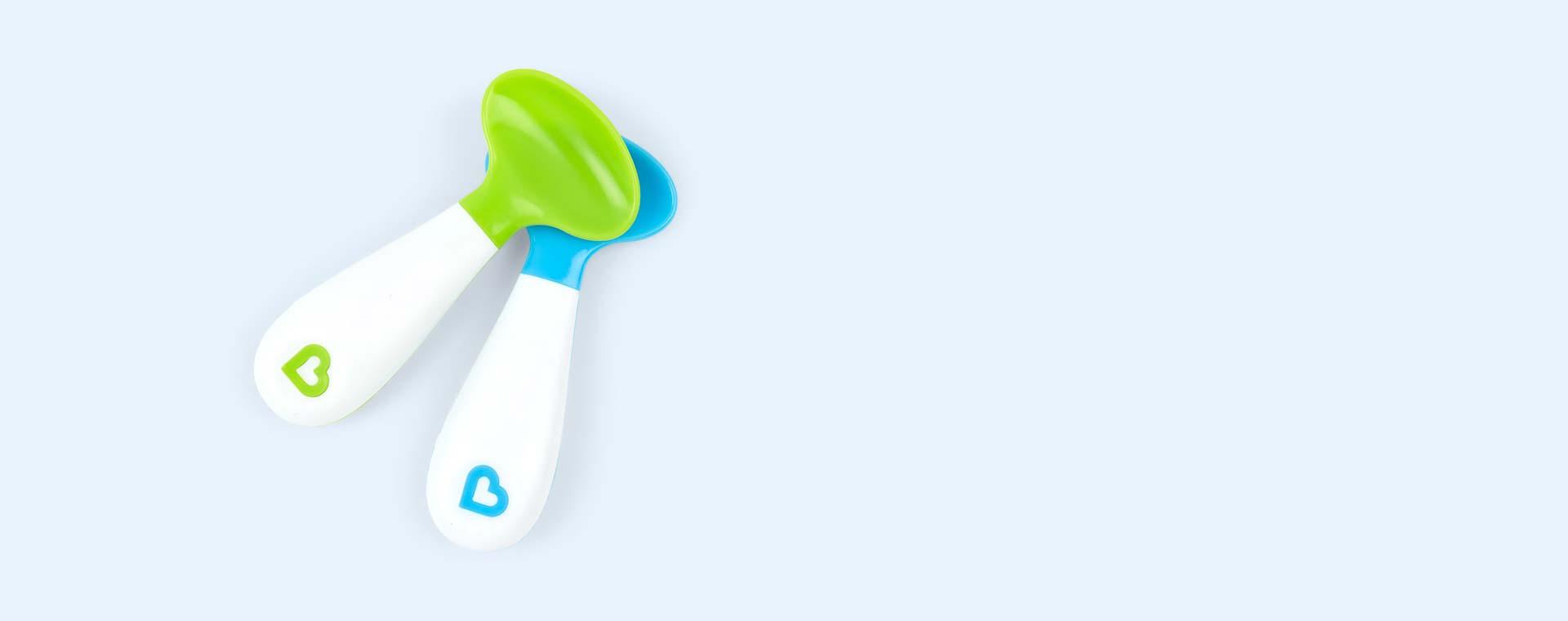 Green & Blue Munchkin Scooper Spoon 2 pack