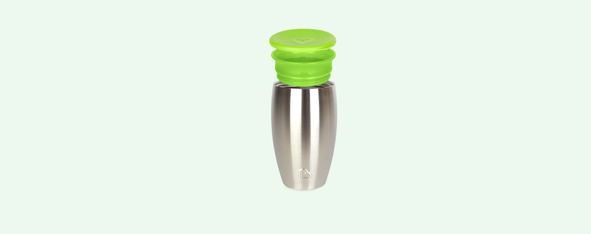Green Munchkin Stainless Steel Miracle Cup