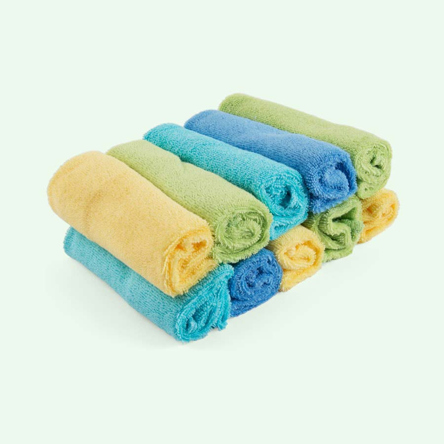 Multi Bambino Mio Reusable Baby Wipes - 10 Pack