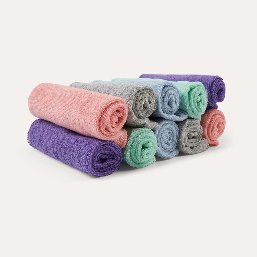 Rainbow 10 Pack Bambino Mio Cloth Baby Wipes