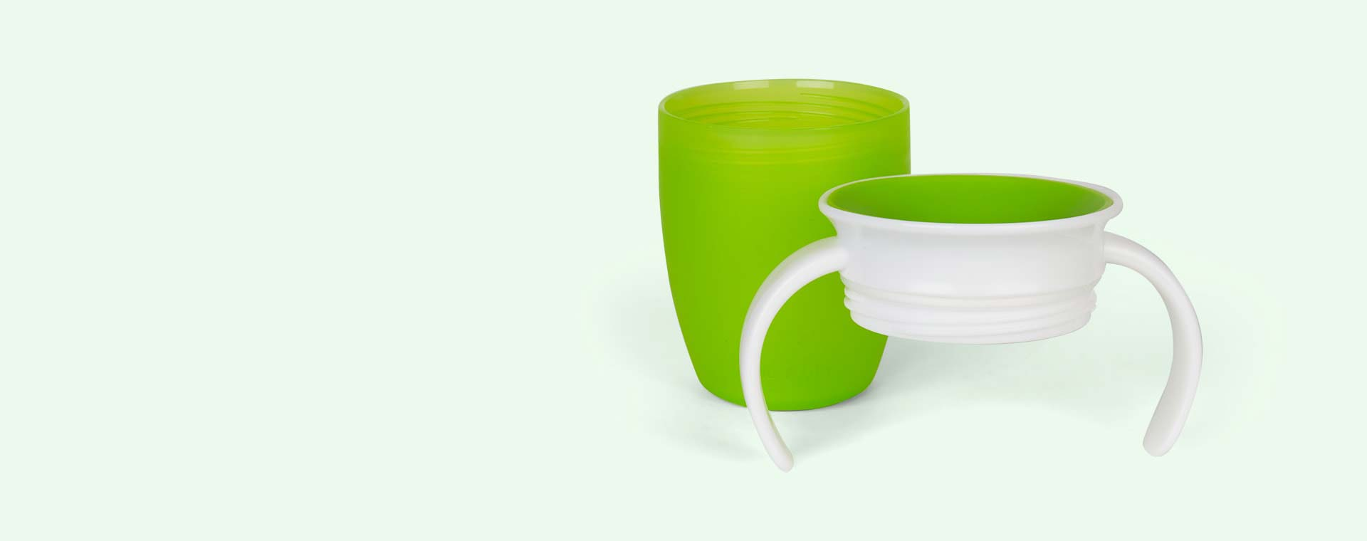 Green Munchkin Miracle Training Cup