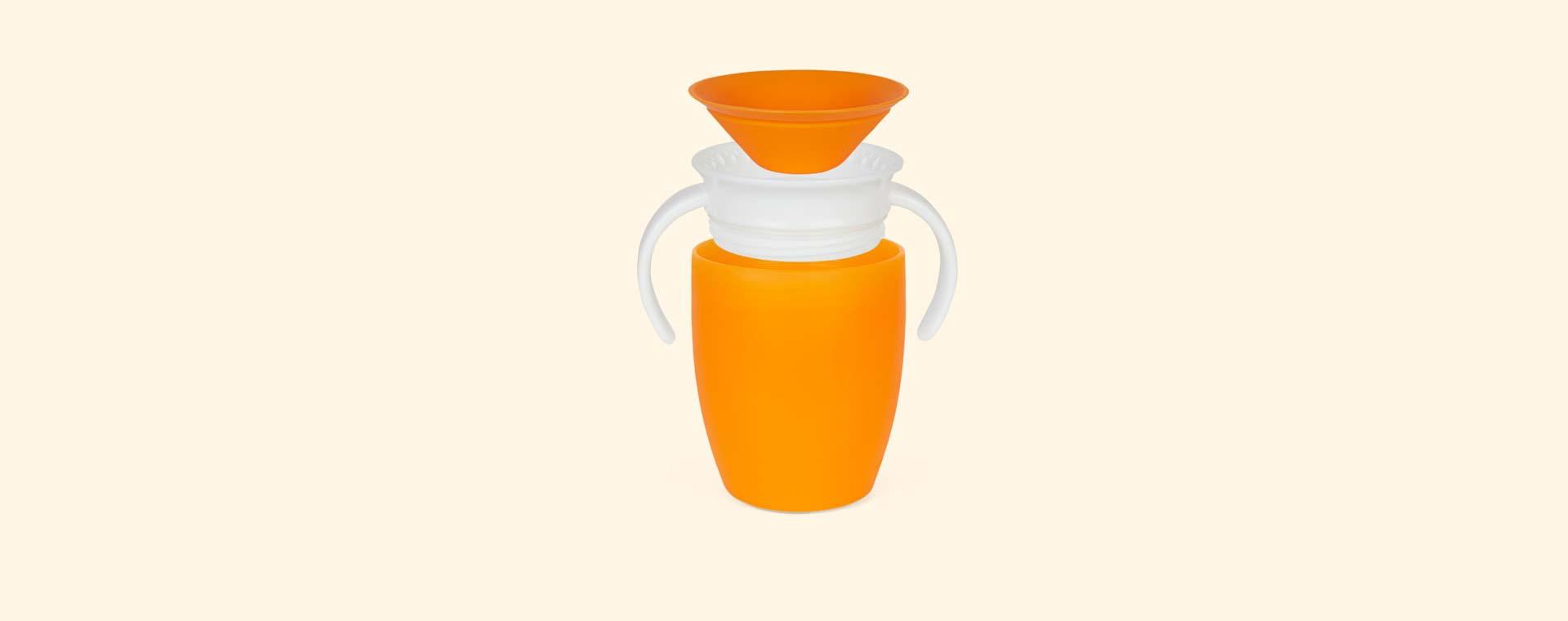 Orange Munchkin Miracle Training Cup