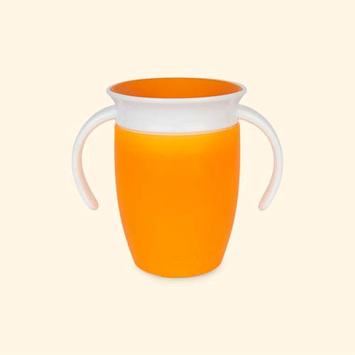 Orange Munchkin Miracle Training Cup