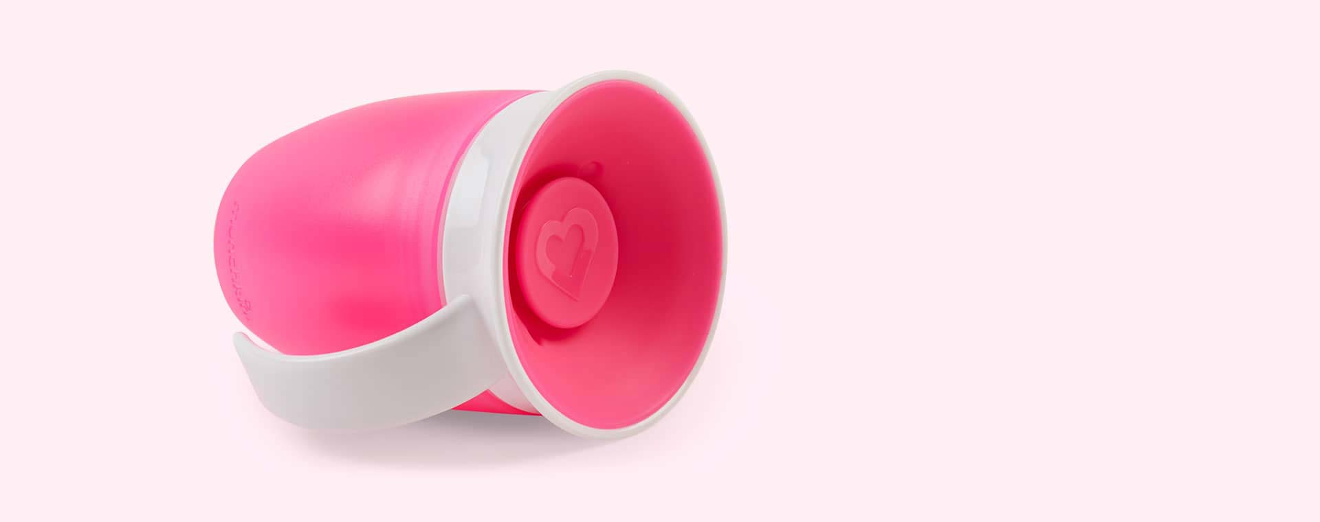 Pink Munchkin Miracle Training Cup