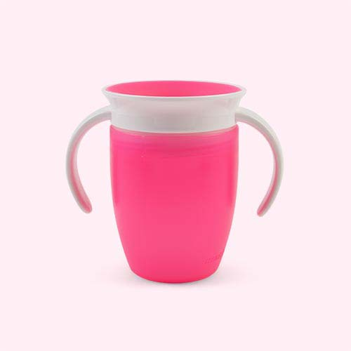 Pink Munchkin Miracle 360 Training Cup