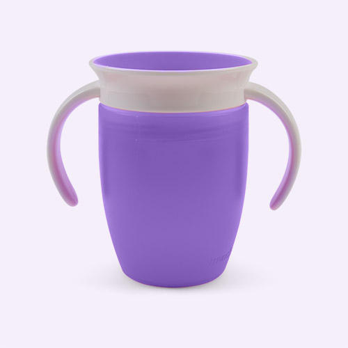 Purple Munchkin Miracle Training Cup