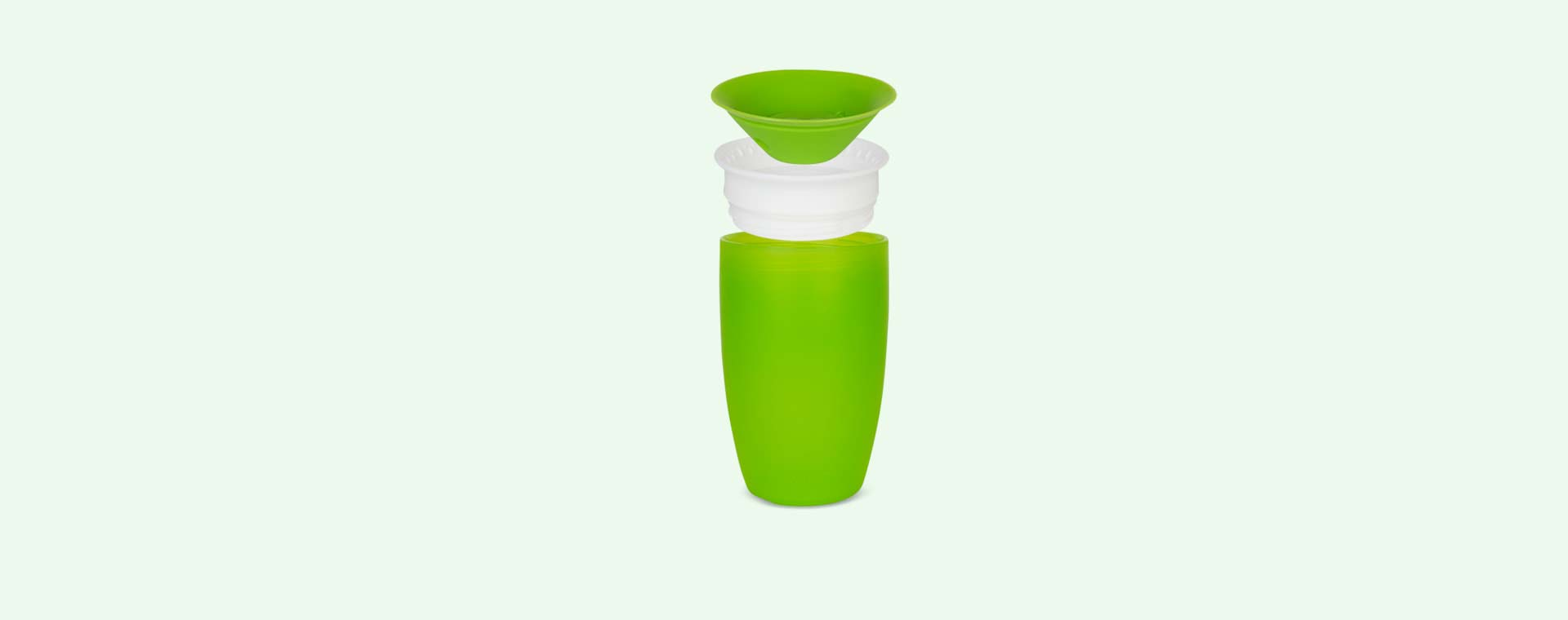 Green Munchkin Miracle 360 sippy cup