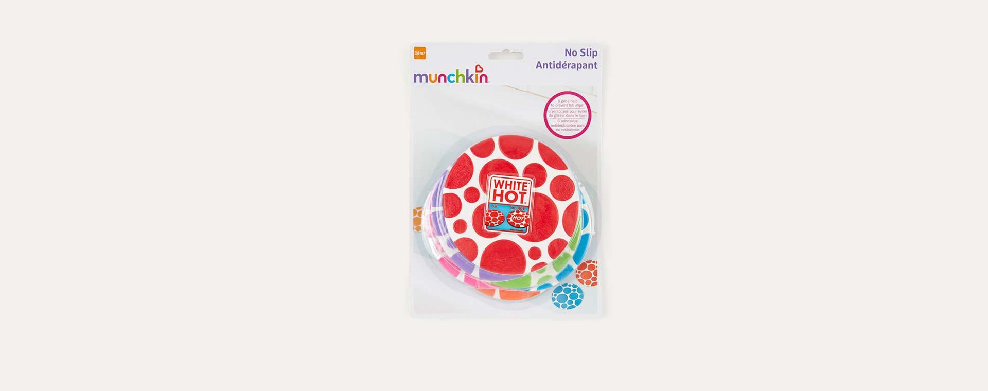 Multi Munchkin Grippy Bath Dots 6 pack