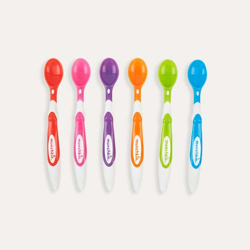 Multi Munchkin 6-Pack Soft Tip Infant Spoons