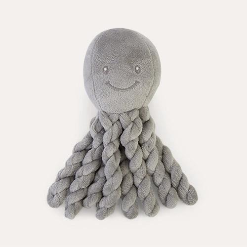 Solid Grey Nattou Piu Piu The Octopus