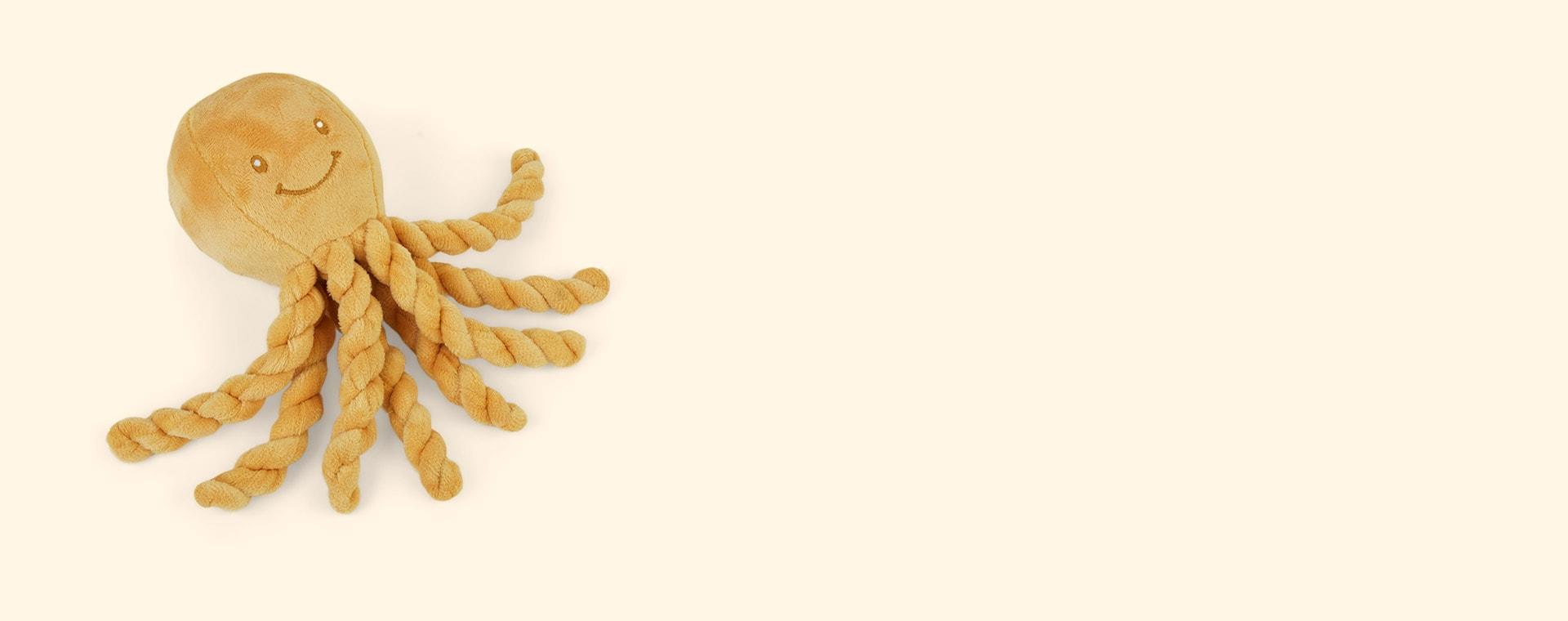 Solid Mustard Nattou Piu Piu The Octopus