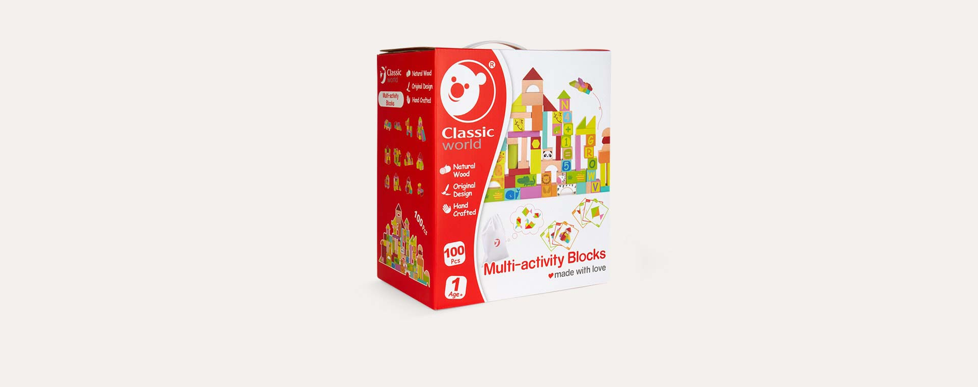 Multi Classic World Multi - Activity Blocks