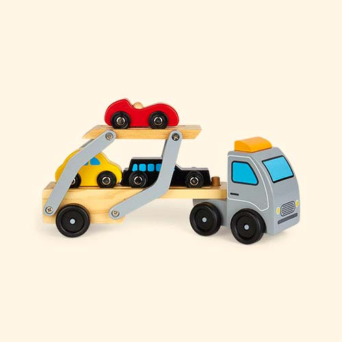 Multi Classic World Wooden Car Transporter