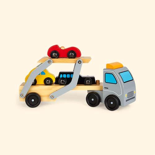 Multi Classic World Wooden Car Transporter