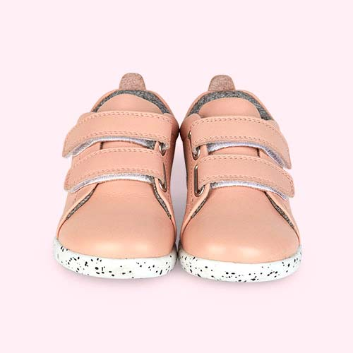 Blush Bobux I-Walk Grass Court Walk Trainer