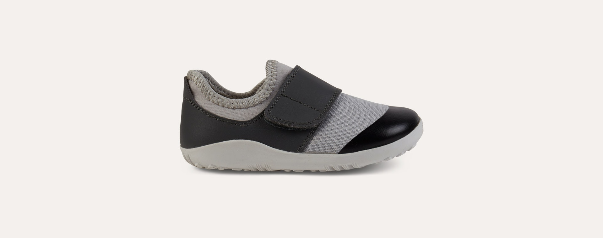 Grey Charcoal Bobux I-Walk Lo Dimension Trainer