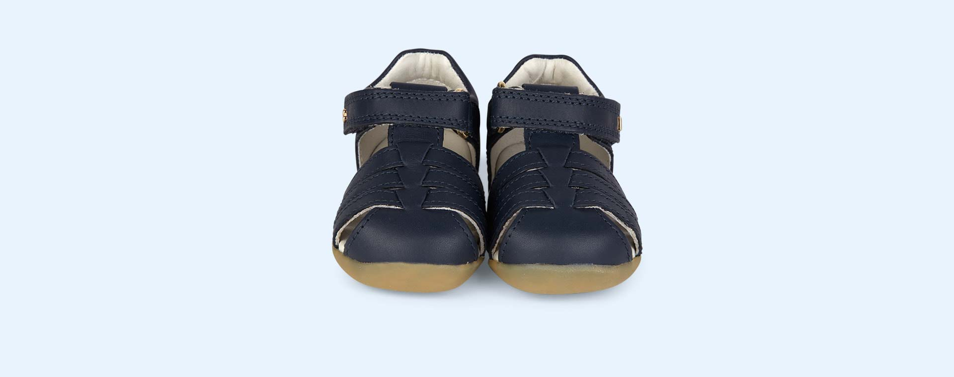 Navy Bobux Step-Up Jump Sandal
