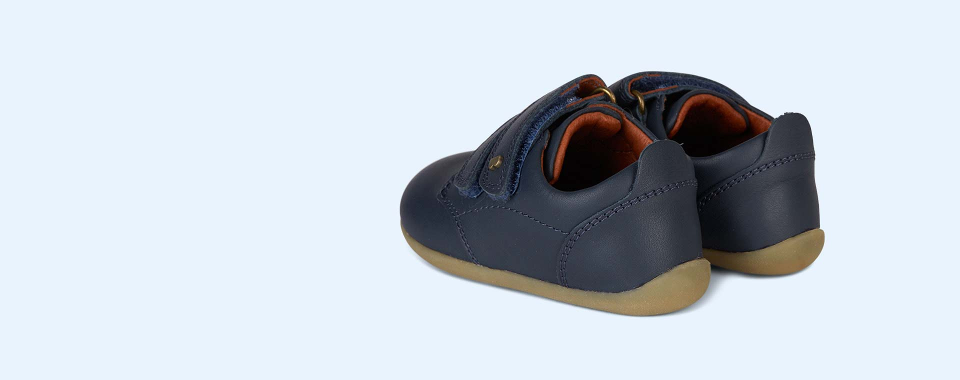 Navy Bobux Step-Up Port Shoe