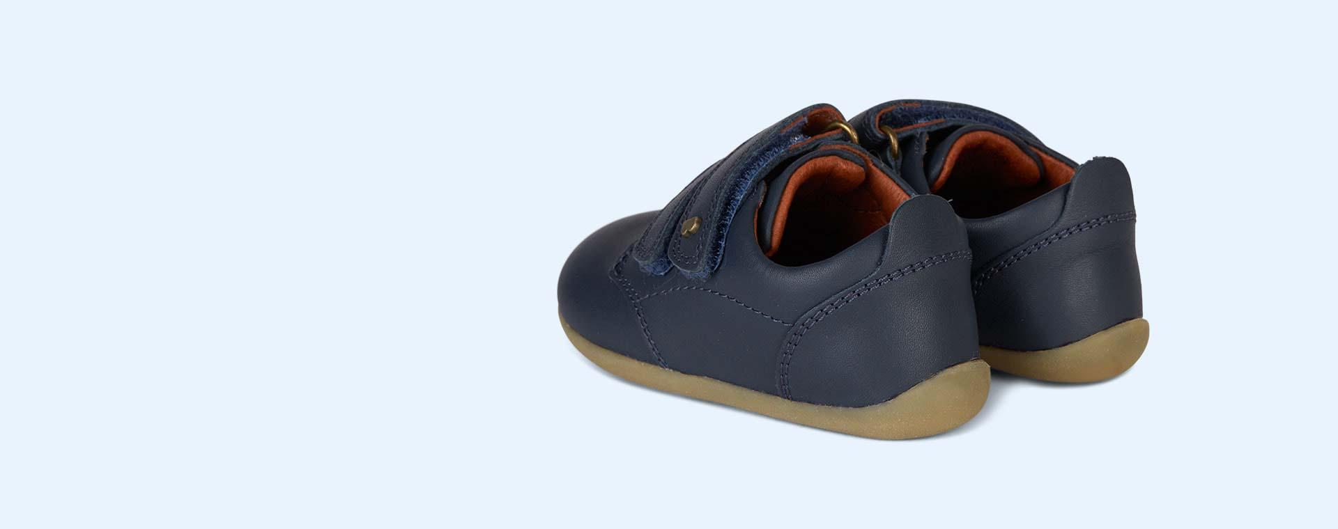 Navy Bobux Step-Up Port Shoe