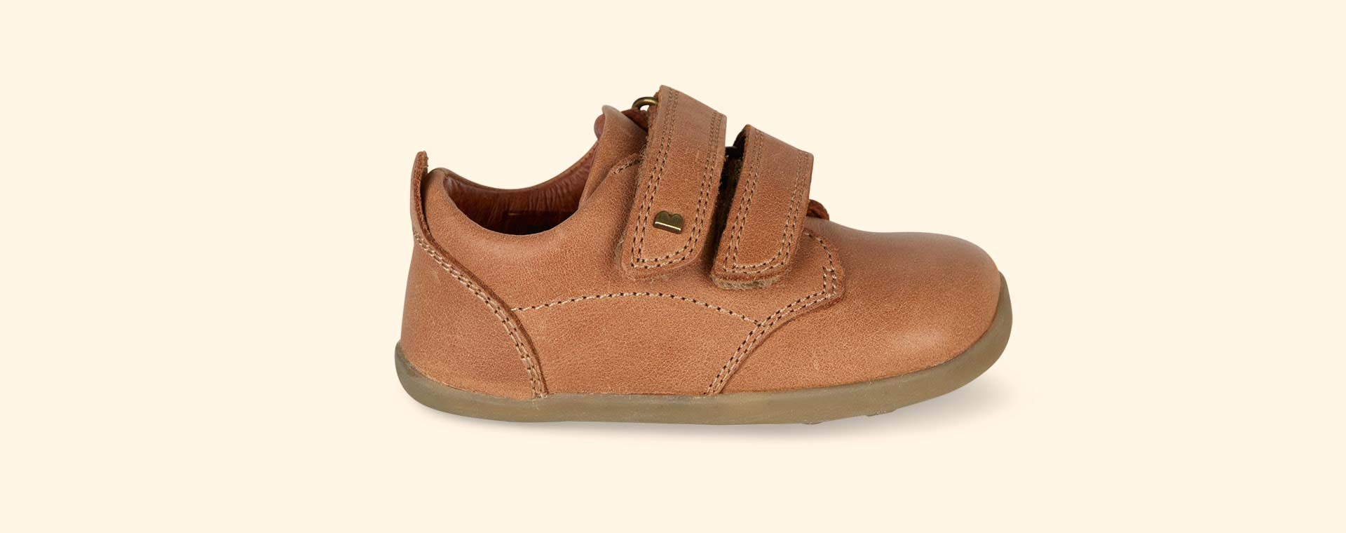 Caramel Bobux Step-Up Port Shoe