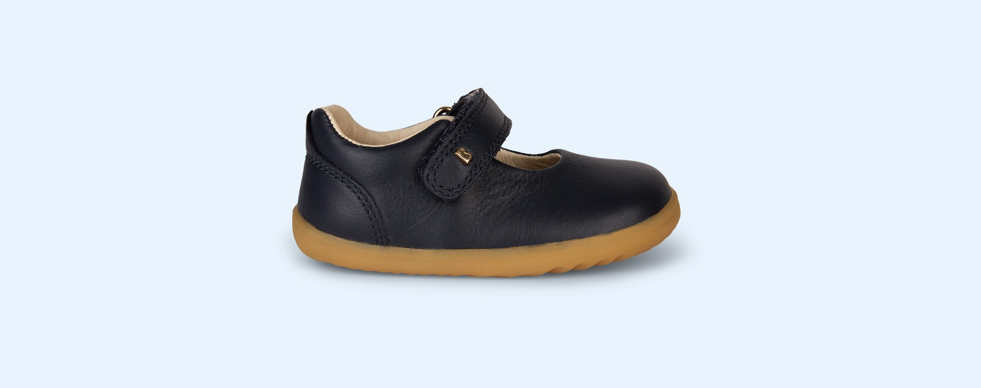 Navy Bobux Step-Up Delight Mary Jane Shoe