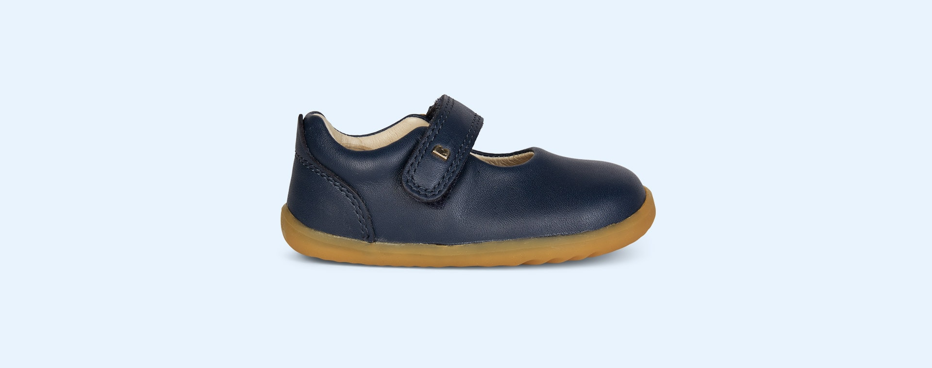 Navy Bobux Step-Up Delight Mary Jane Shoe