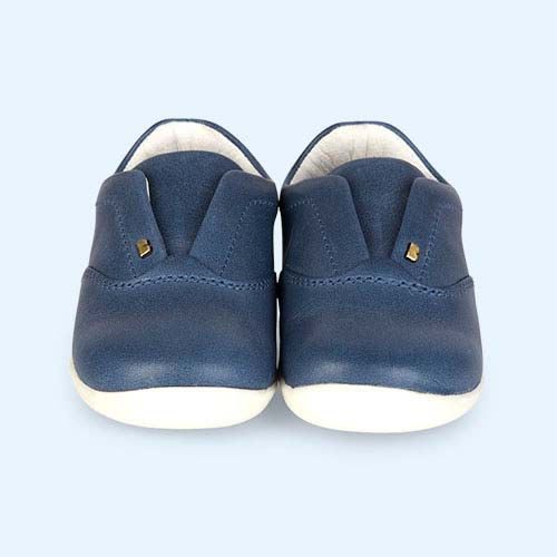 Denim Bobux Step-Up Duke Trainer