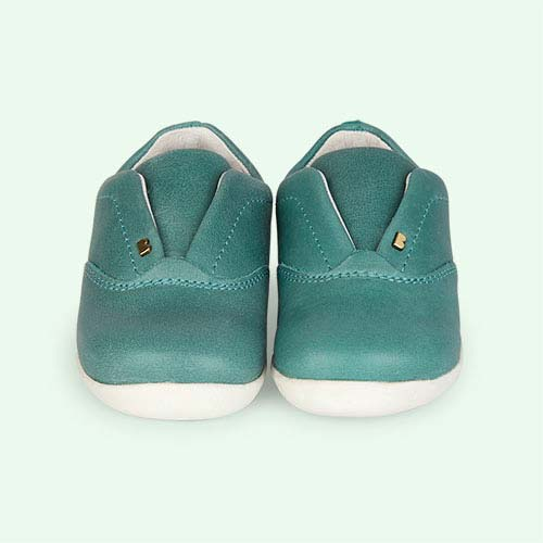 Teal Bobux Step-Up Duke Trainer