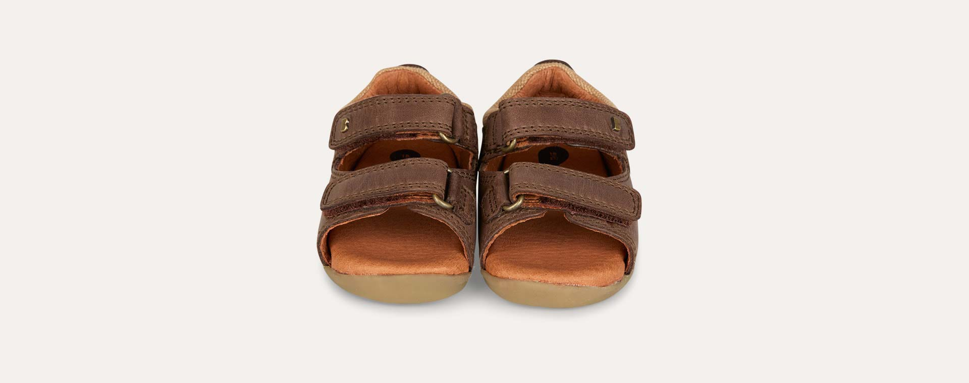 Brown Bobux Step-Up Driftwood Sandal