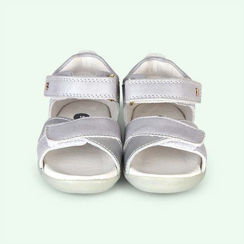 Silver Bobux Step-Up Sail Sandal