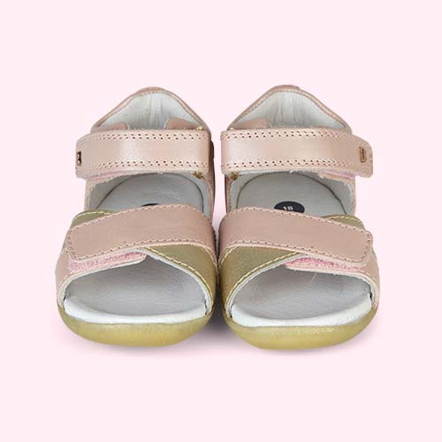 Blush Bobux Step-Up Sail Sandal