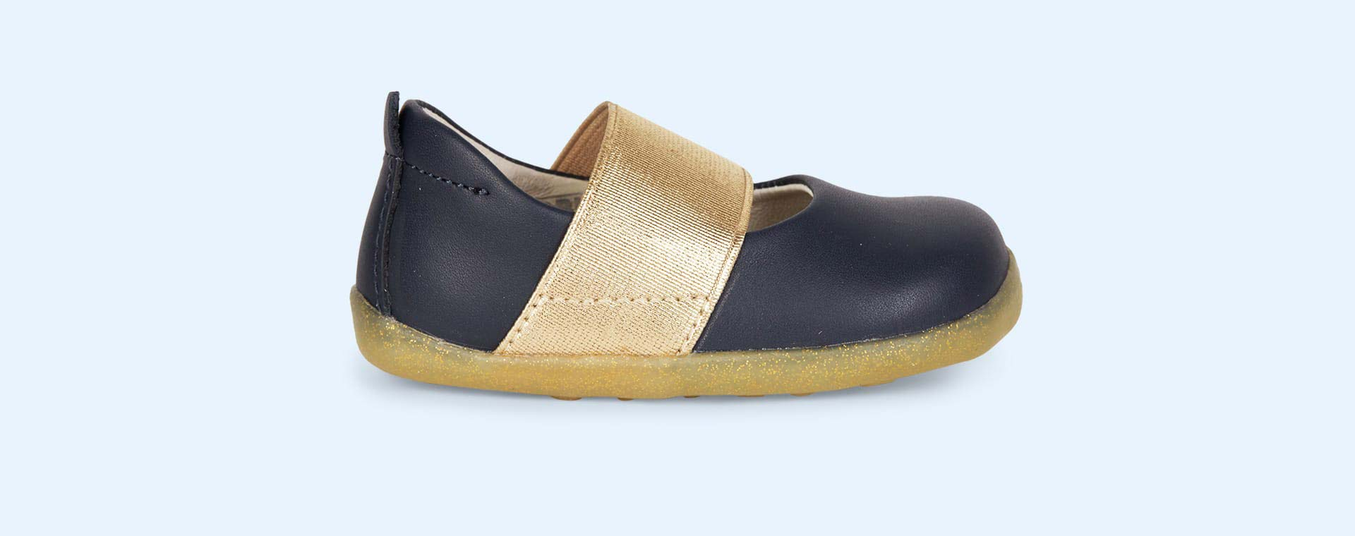 Navy Bobux Step-Up Demi Shoe