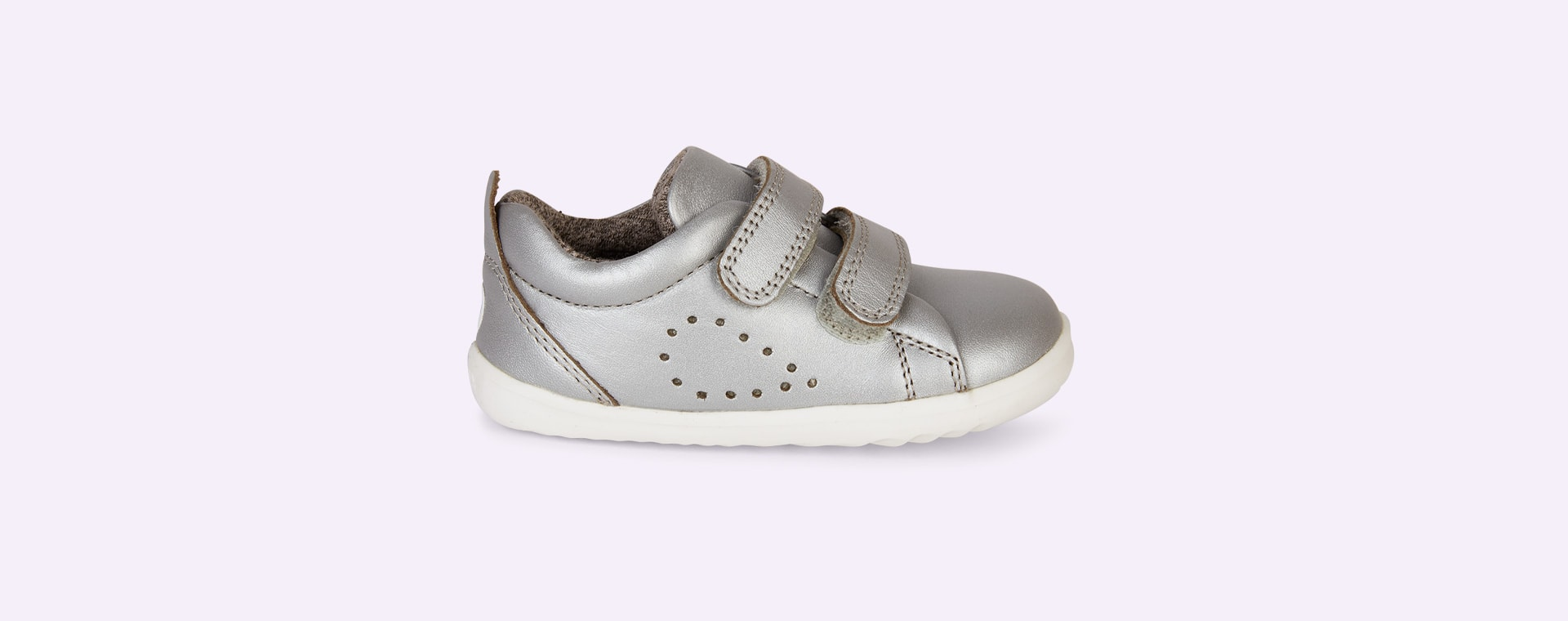 Silver Bobux Step-Up Grass Court Trainer