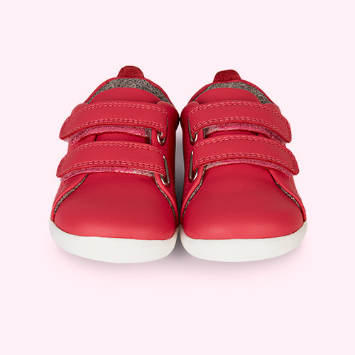 Watermelon Bobux Step-Up Grass Court Trainer