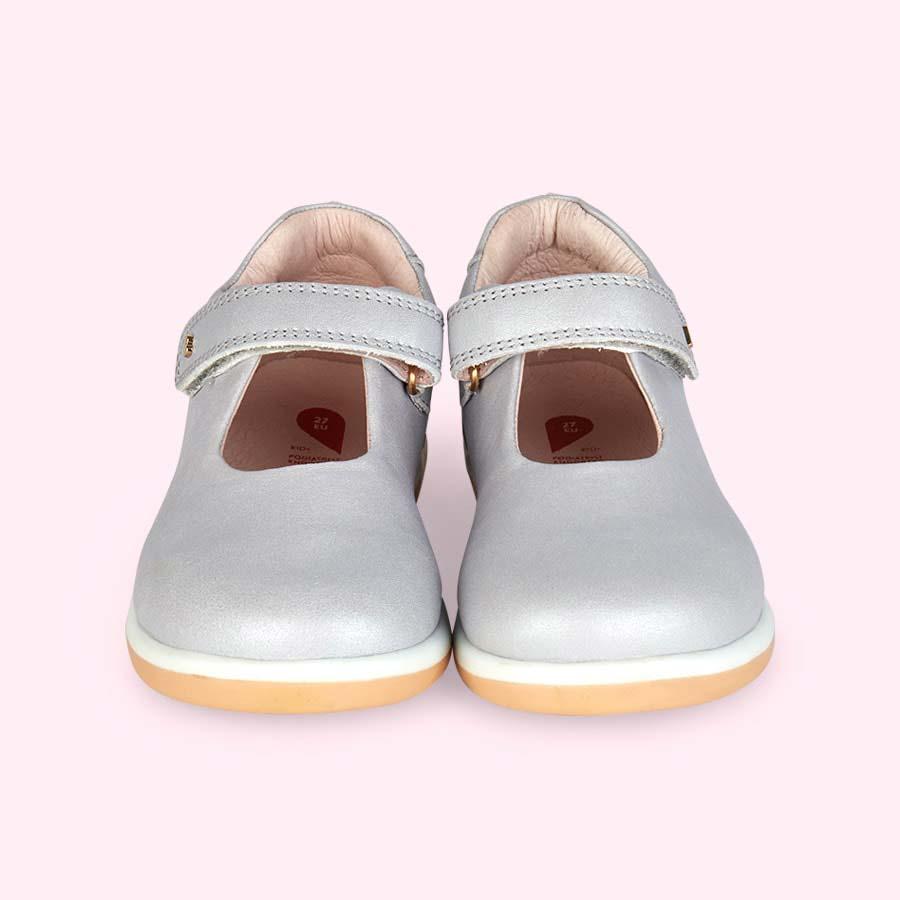 Silver Bobux Kid+ Delight Mary Jane Shoe