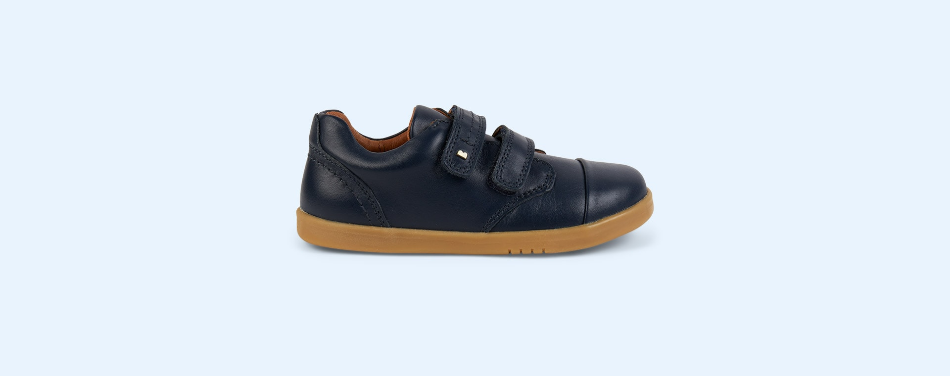 Navy Bobux Kid+ Port Shoe