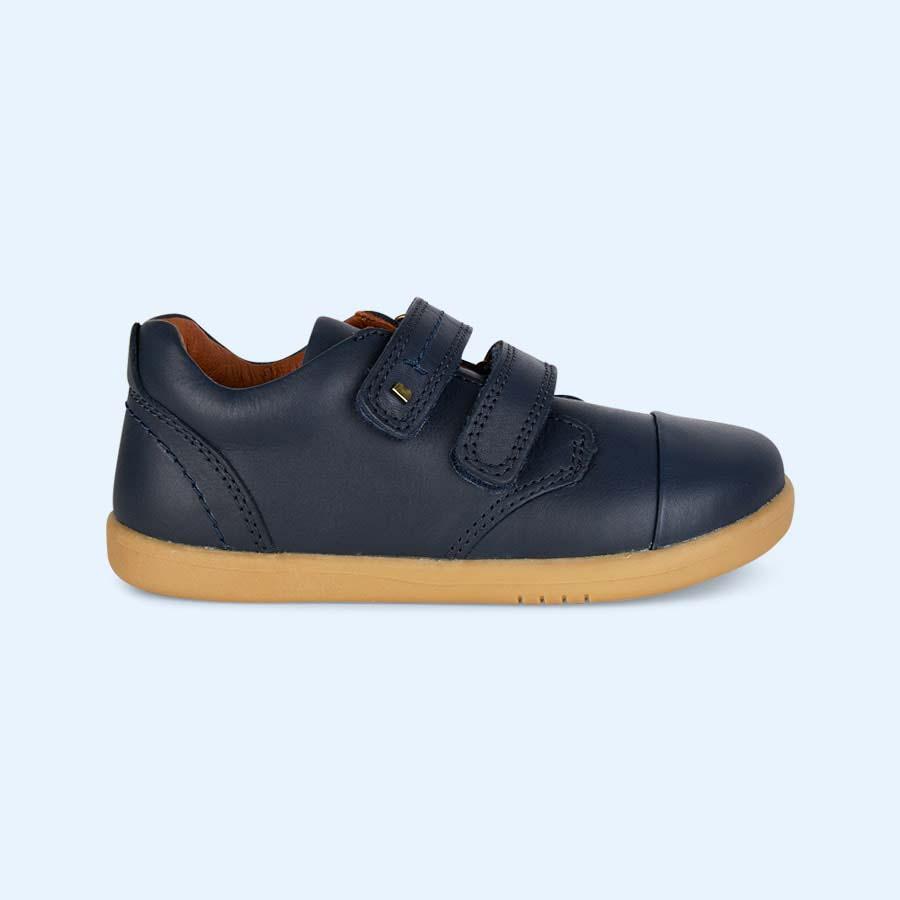 Navy Bobux Kid+ Port Shoe