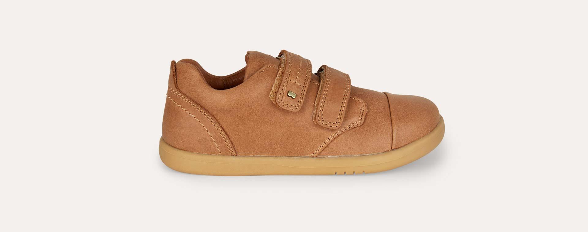 Caramel Bobux Kid+ Port Shoe