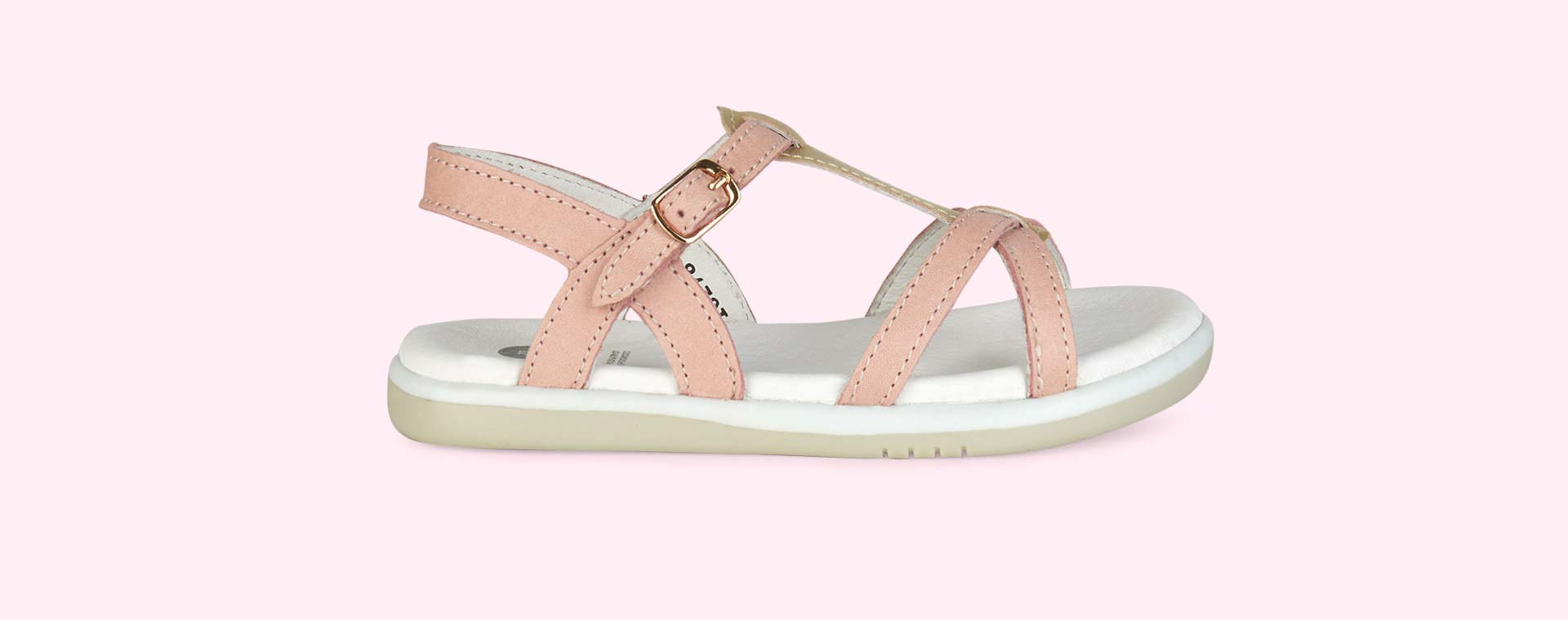 Blush Bobux Kid+ Pixie Sandal